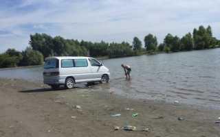Штраф за мытье машины в неположенном месте