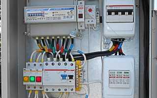 Контроль потребления электроэнергии на столбе